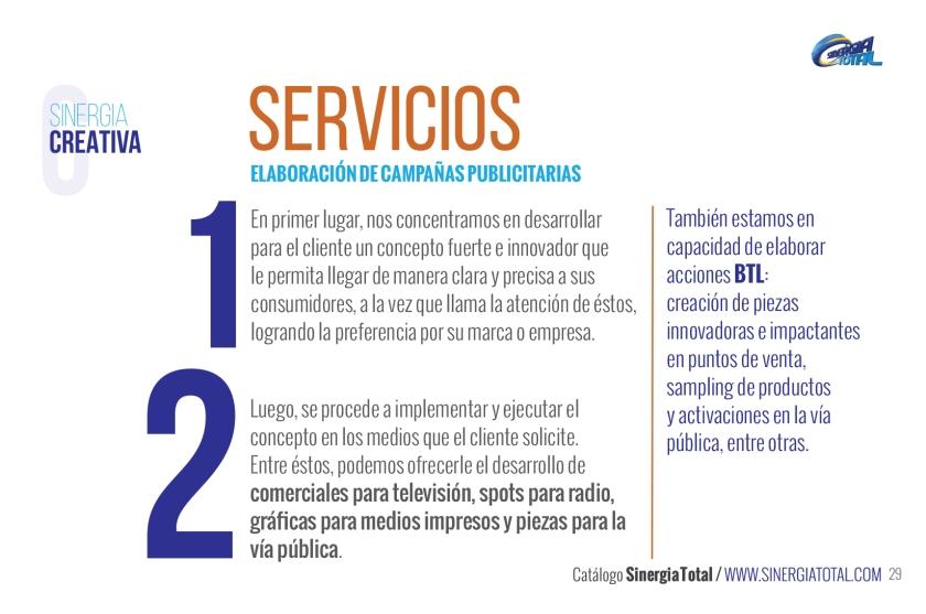 Sinergia creativa Servicios Francisco Neri Bonilla Jorge Neri Bonilla